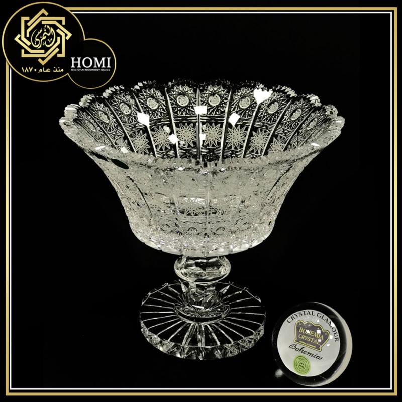 Bohemia Crystal  – Glamour Factory – Handmade – Lead Ratio 24% – Country of origin Czech
